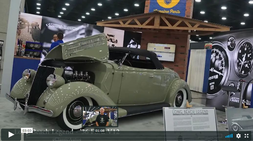 Long Beach Legend – 1936 Ford Deluxe Roadster Video