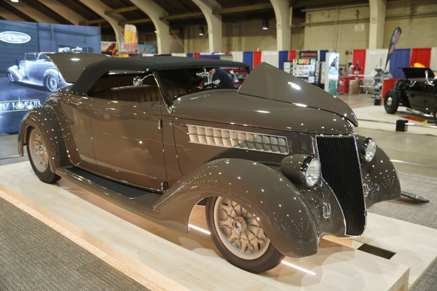 """America's Most Beautiful Roadster, 1936 Ford """"3-Penny Roadster"""" Video"""