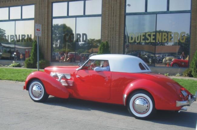 Auburn Duesenberg Cord Car Museum