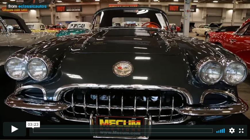 2015 Mecum Spring Auction Video