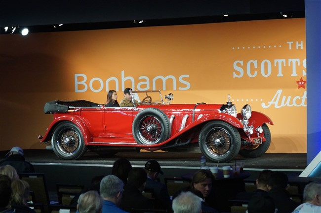 Barrett-Jackson, RM Sotheby's, Gooding & Co, and Bonhams - 2017 Arizona Car Week