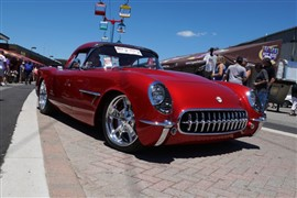 "1954 Corvette, Named ""Transitions, at NSRA Nationals in Louisville"