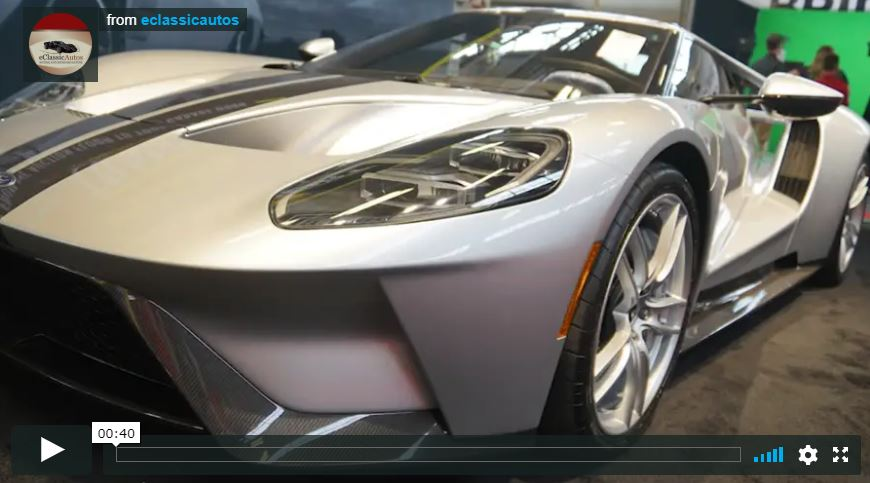 2017 Ford GT - Mecum Indy 2018 Video