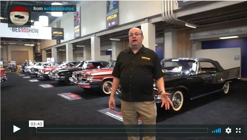John Kraman Talks About Car Collection Video - 2018 Mecum Indy
