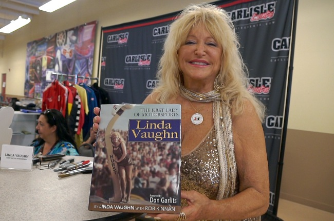 Linda Vaughn at Hurst Nationals, Carlisle, PA Video