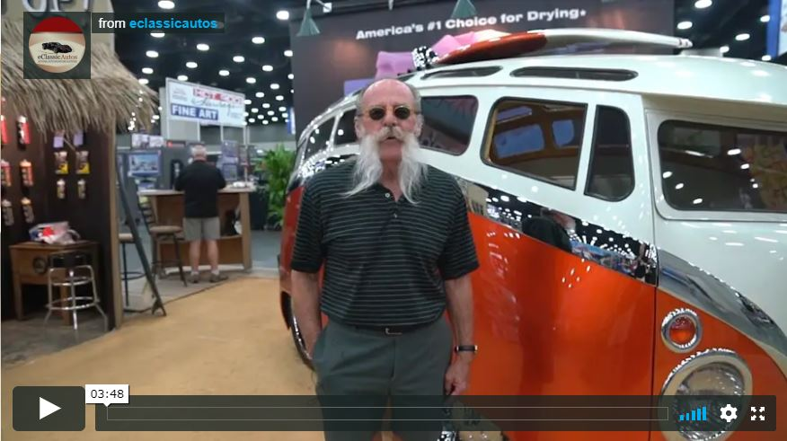 Ron Berry's Volkswagen Bus Video