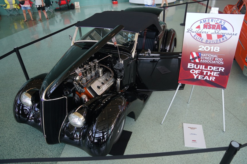 "1936 Ford ""Boesch"": NSRA Builder of the Year"