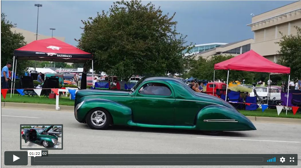 1939 Zephyr Hemi Video
