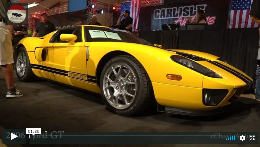 2006 Ford GT Sells – Carlisle Fall 2017 Video