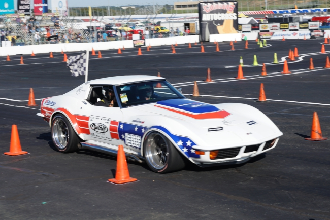 Ryan Matthews Wins Autocross Pro Class 2017 Goodguys Raleigh