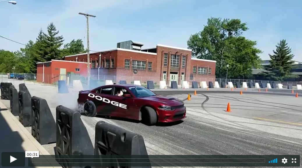 Dodge Thrill Rides at Mecum Kissimmee 2017 Video