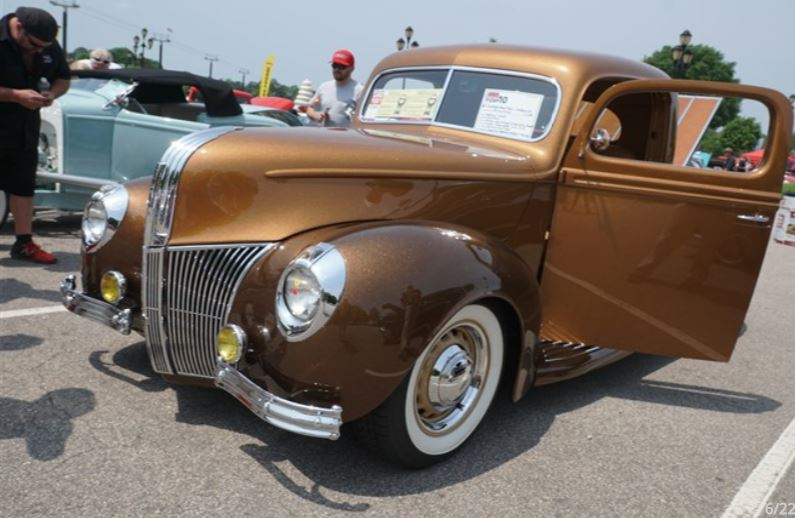Gold Standard 1941 Ford Pickup Goodguys NC Nationals 2017 Raleigh Video