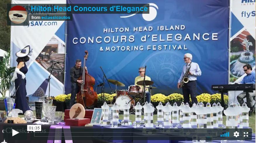 Hilton Head Concours d'Elegance 2018 Video