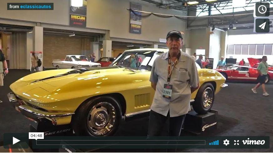 Ken Lingenfelter Talks About a 1967 Corvette L88 at 2018 Mecum Indy