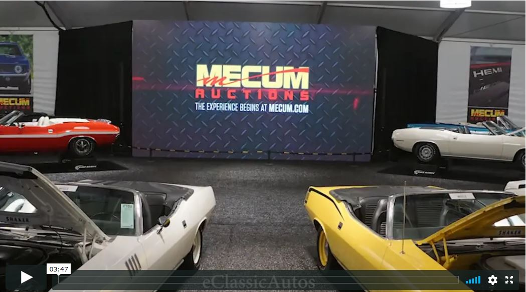Mecum Kissimmee 2016 Video