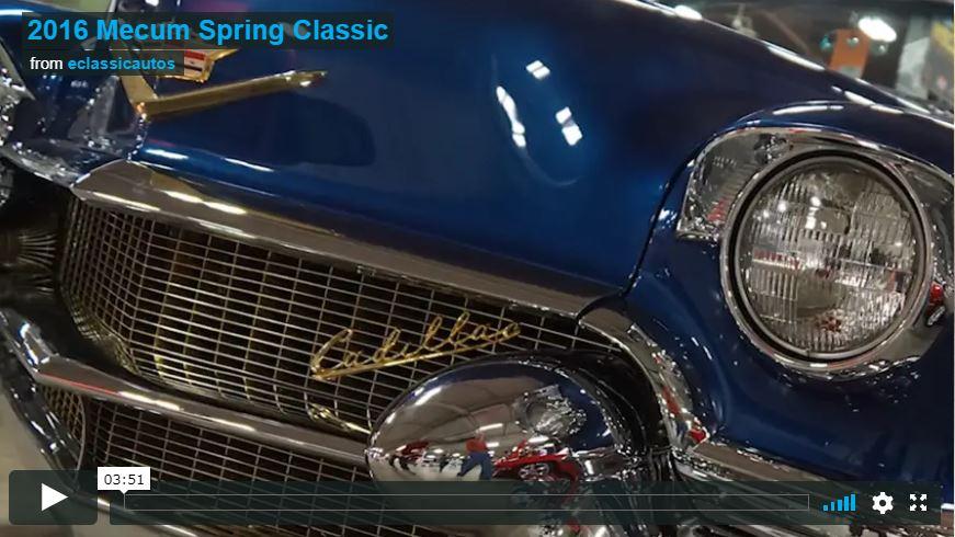Mecum Spring Classic Indianapolis 2016 Video