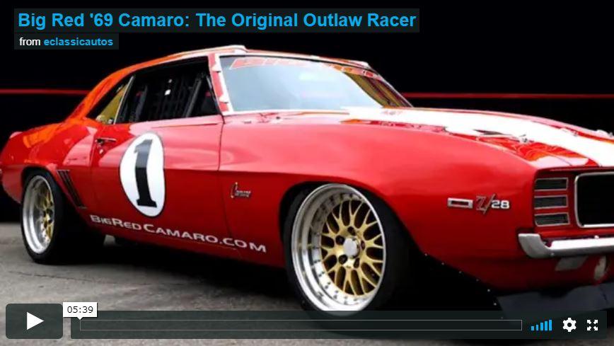 Big Red '69 Camaro: The Original Outlaw Racer Video