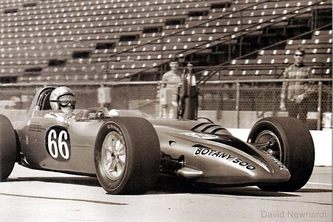 Bruce McLaren in his Indy 500 Debut