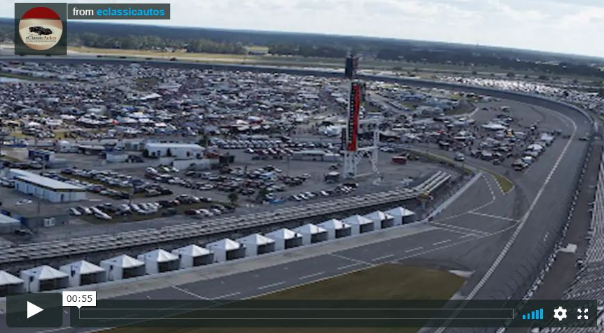 Daytona Beach Turkey Run Aerial View 2016 Video