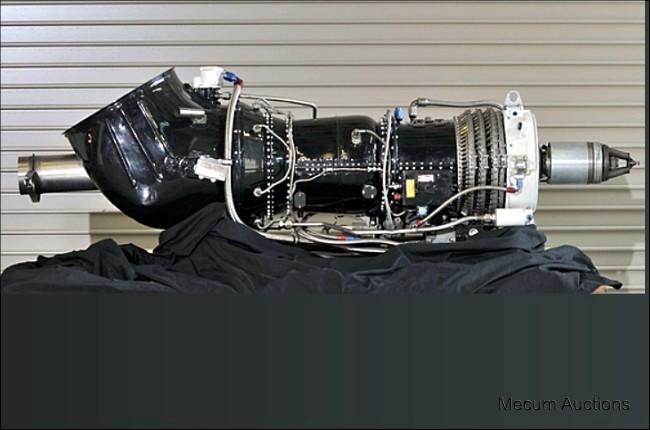 GE Turbine Engine Display