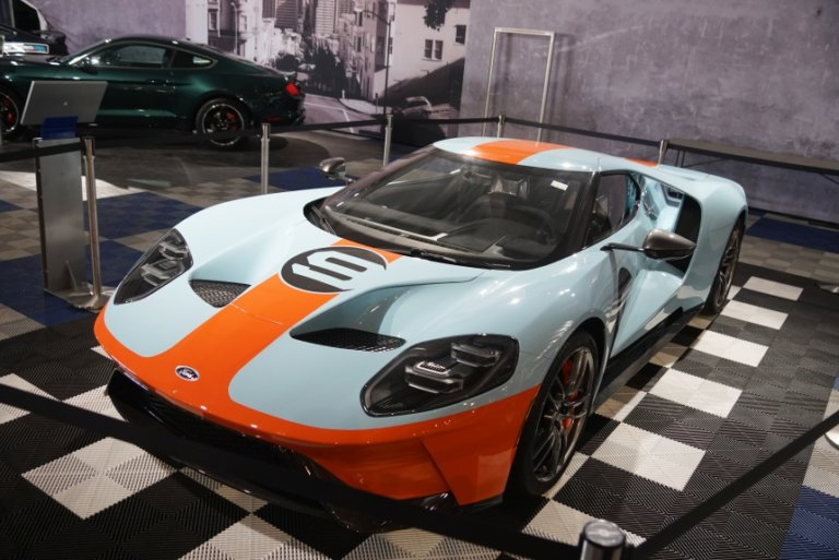 2019 Ford GT VIN 001 at Barrett-Jackson Scottsdale 2019 Video