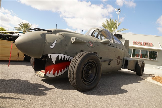 P40 Rat Rod at 2017 Daytona Turkey Run (Video)