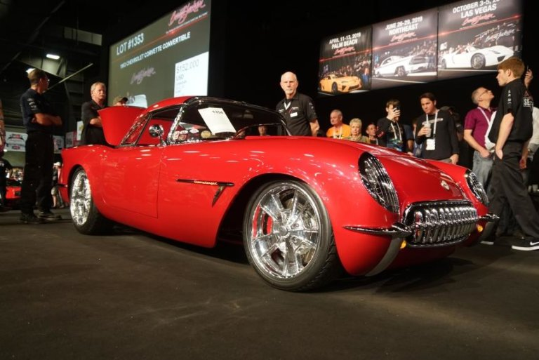 "1954 Corvette, ""Transitions,"" Sale at Barrett-Jackson Scottsdale 2019 Slideshow"