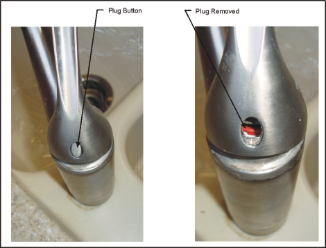 repair kitchen sink faucet handle
