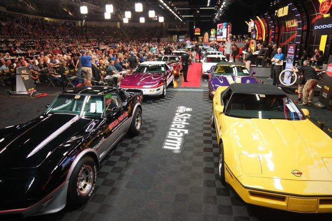 Mecum Corvette Pace Cars