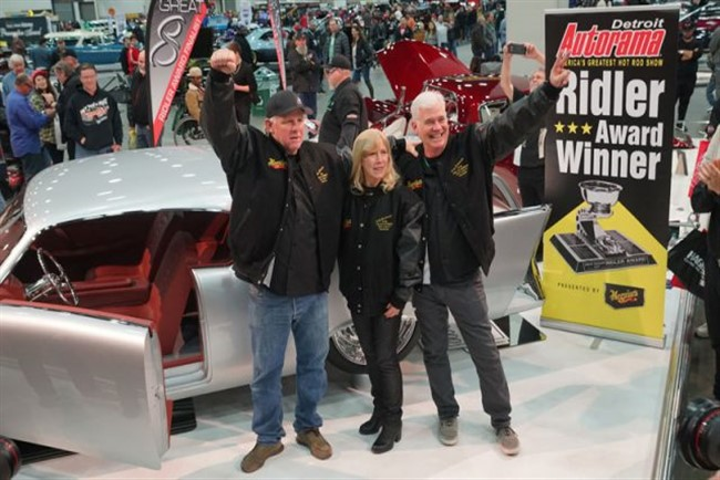 Watch Detroit Autorama 2018 Ridler Award Win
