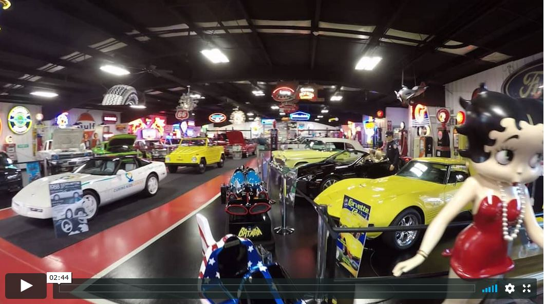 Dream Cars Museum - Evansville Video