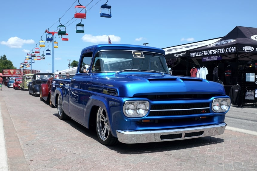 4 1958 Ford F100 Builder Choice Award