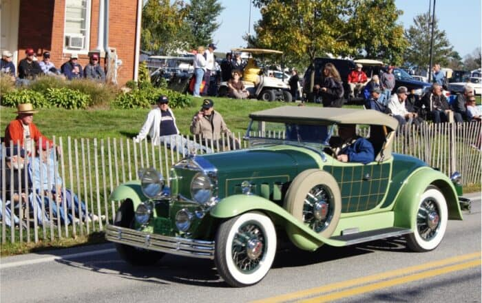 2 1929 Willys Knight Plaidside Roadster
