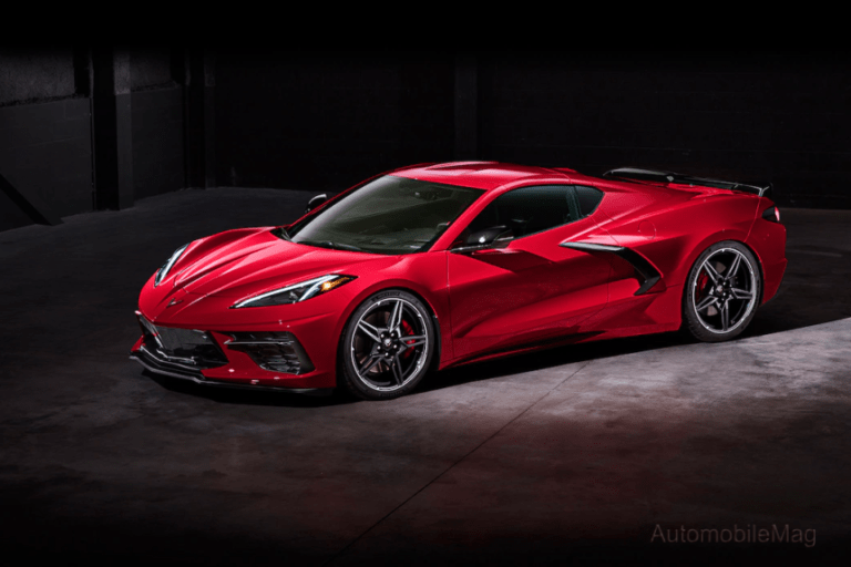 Tires on the Mid-Engine Corvette and its Muscle Car Rivals