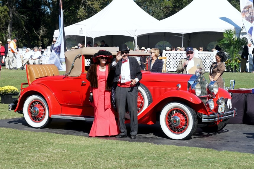 Packard With Couple