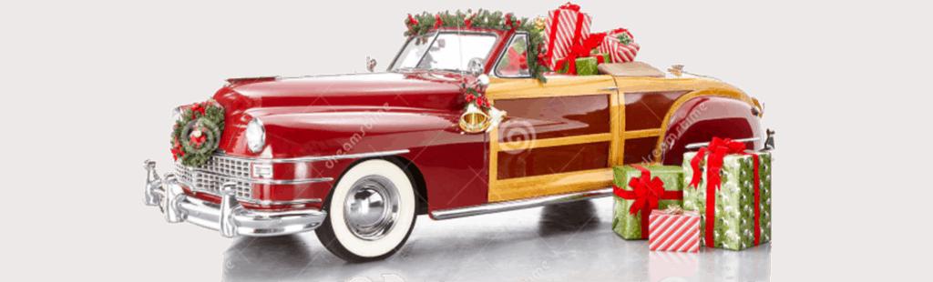 Christmas Classic Car Lover