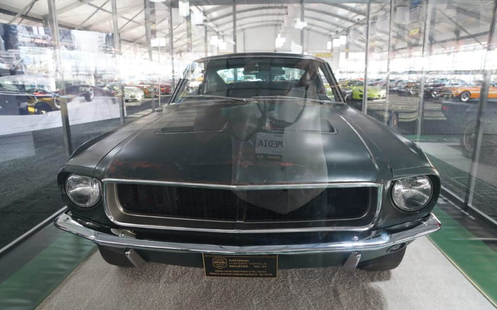 """Bullitt"" Mustang Sale Sets New Record at Mecum Kissimmee"