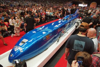 Thompson's Challenger 2 Main Attraction at Mecum Kissimmee
