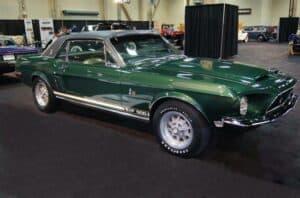 The Shelby Mustang Green Hornet