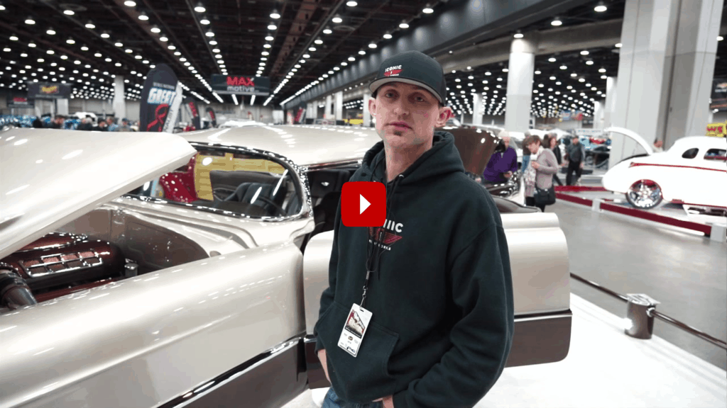 1955 Cadillac Deville: Great 8 Winner at Detroit Autorama
