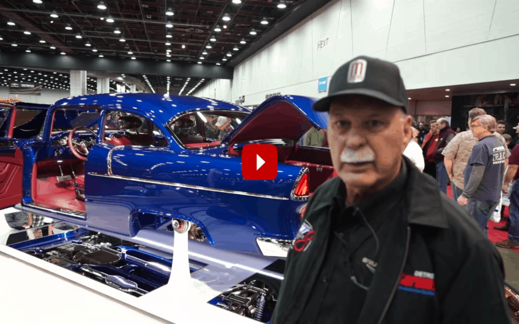 1955 Chevy Bel Air: Great 8 Winner at 2020 Detroit Autorama