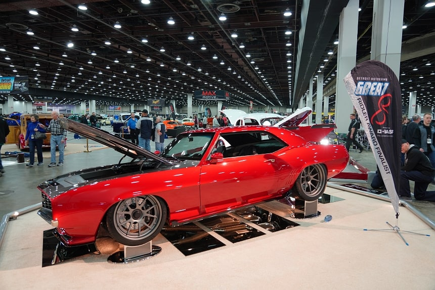 Great 8 Cars at the 2020 Detroit Autorama