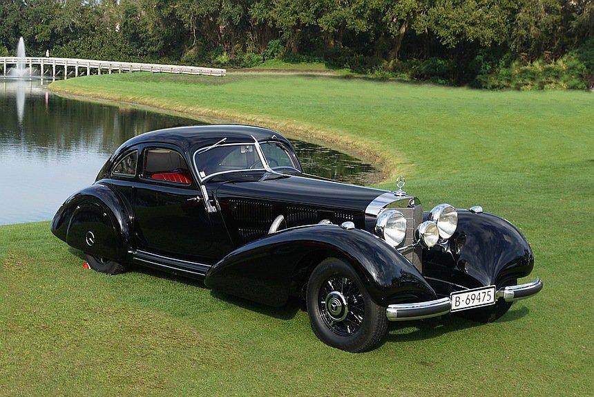 2019 Concours d'Elegance: 1938 Mercedes-Benz 540K