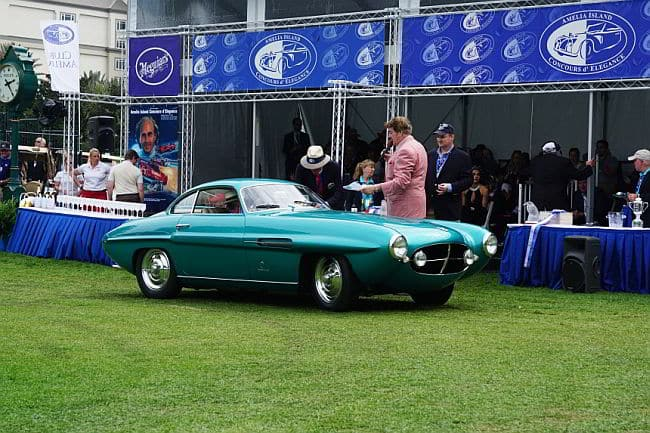 2016 People's Choice: 1953 Fiat 8V Supersonic