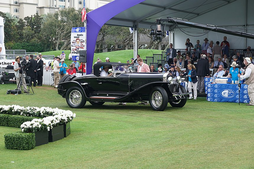 2019 People's Choice: 1927 Isotta Franchini Tipo 8A S Roadster