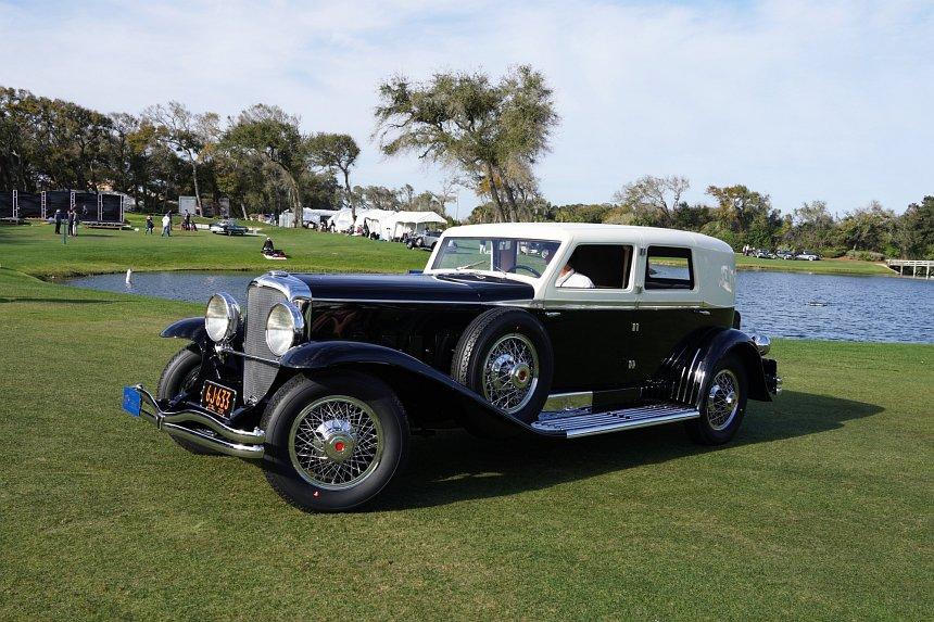 2019 Concours d'Elegance: 1929 Duesenberg J-218 Town Limousine