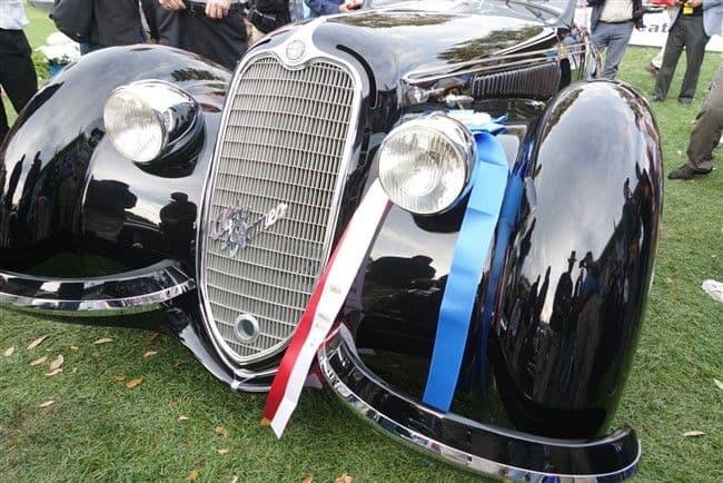 2017 Concours de Sport: 1939 Alfa Romeo