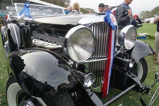 2017 Concours d'Elegance: 1935 Duesenberg SJ-582