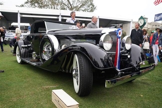 2018 Concours d'Elegance: 1929 Duesenberg J/SJ Convertible