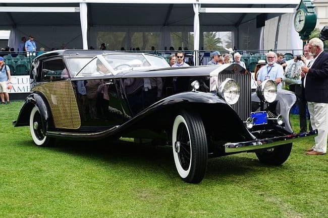 2016 Concours d'Elegance: 1930 Rolls-Royce Phantom II